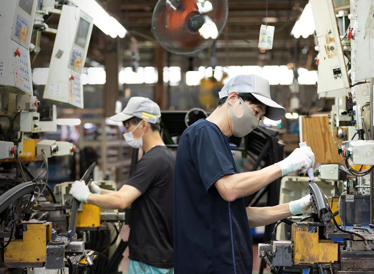 ヤギヌマ流通サービス 自動車部品製造のイメージ
